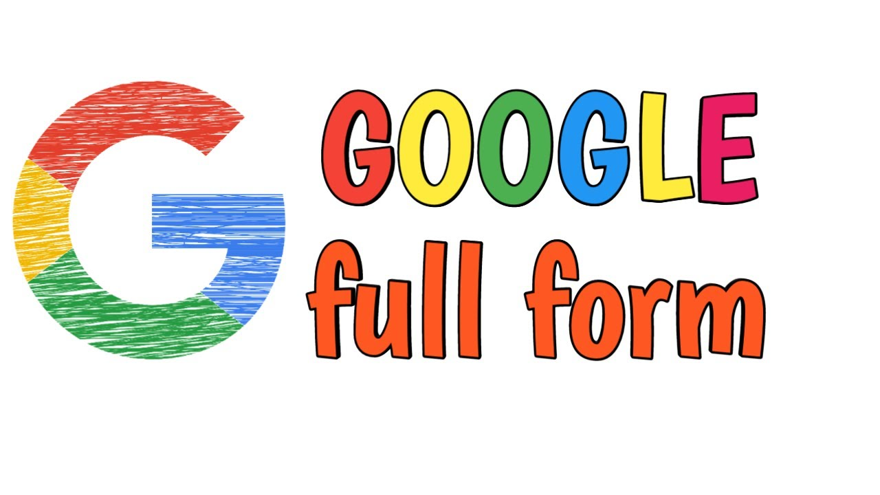 full form of google